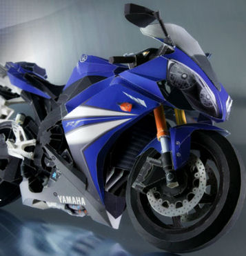 Yamaha R1 Paper Craft