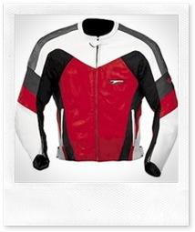 Teknic Lightening Leather Motorcycle Jacket