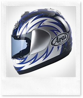 Arai Condor Voltage Blue
