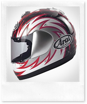 Arai Condor Voltage Red