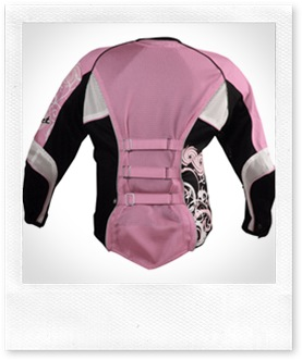 Joe Rocket Cleo 2.0 Motorcycle Textile Jacket Ladies - Back