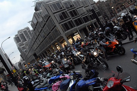 31sr March 2009 - Bike Parking Tax Demo